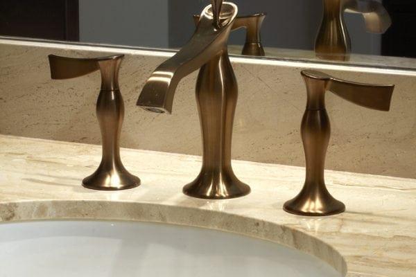 Swarovski crystal drain pull