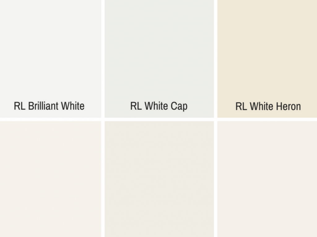white color swatches