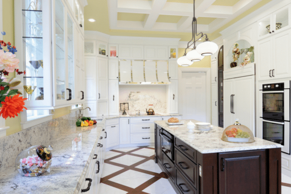 A University City century home gets a complete makeover, while traditional design choices keep this state-of-the-art kitchen true to its roots. Photo by Michael Jacob