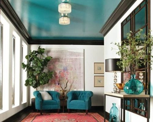 Teal is a chameleon hue that rides the fence between blue and green. Reminds me of the ocean, what about you? Real Simple