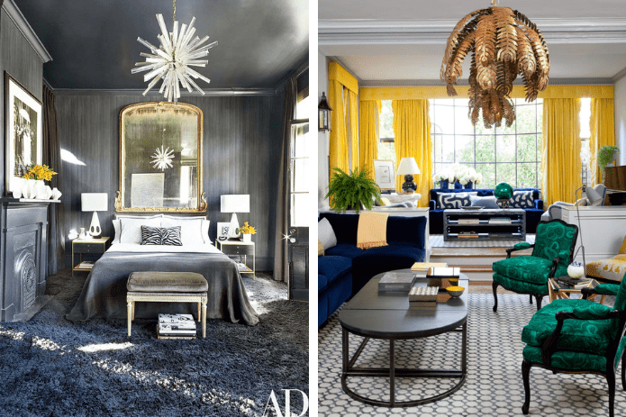 contemporary glamorous chandeliers