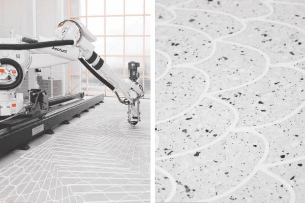 making terrazzo floor