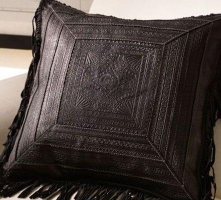 fringed ralph lauren pillow