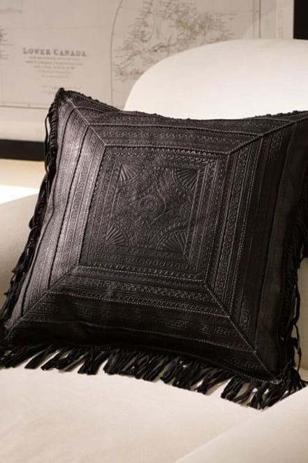 fringed ralph lauren pillow