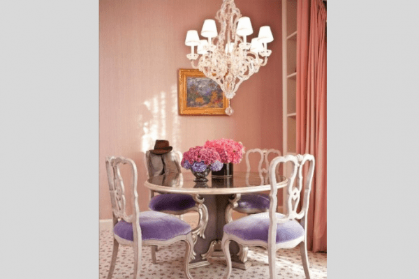 lavender dining room seat cushions