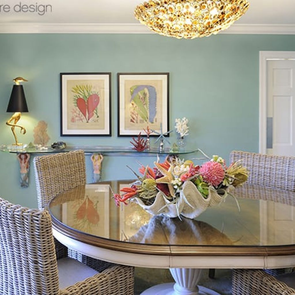 Coastal Home Dining Room