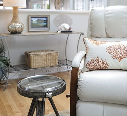 Selective photo of living room furnitures