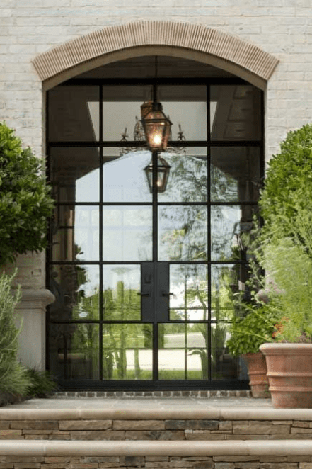 french steel entry doors