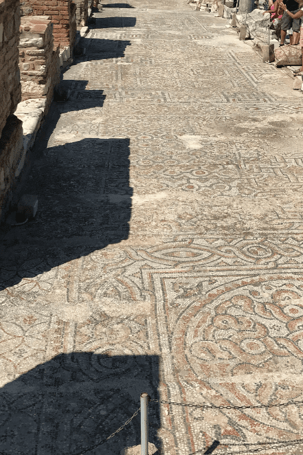 GREEK MOSAIC FLOOR