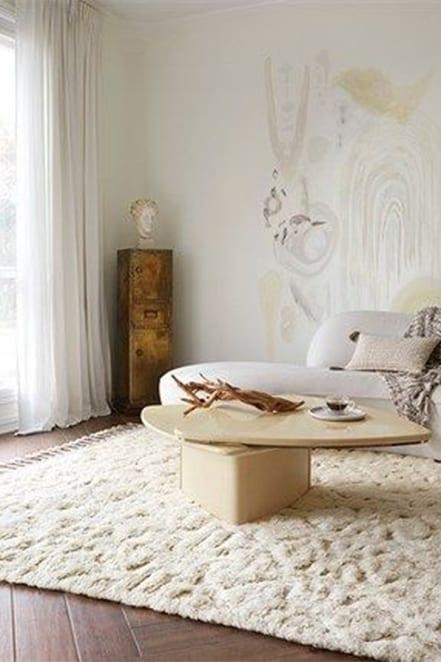 light wood coffee table