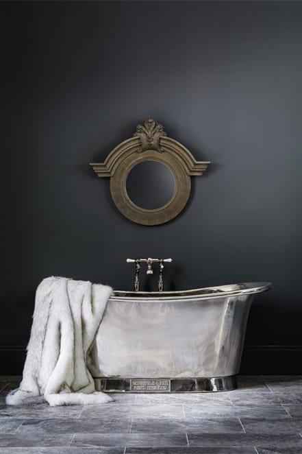 silver tub