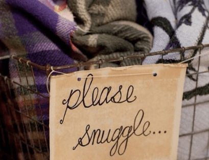 please snuggle sign