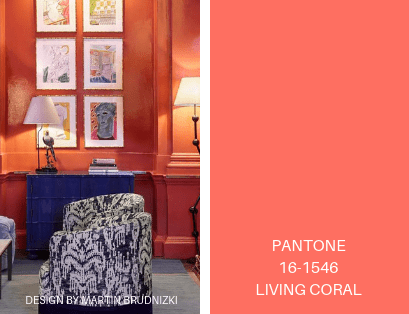 living coral paint color