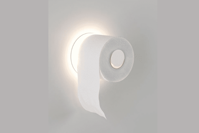 light up toilet paper dispenser