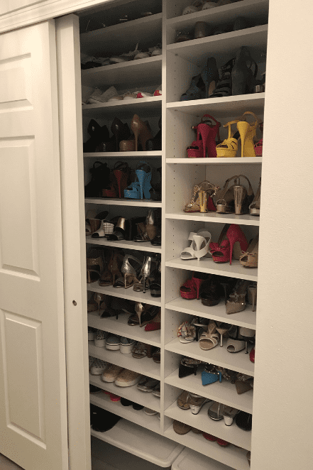 tall cabinet shoes