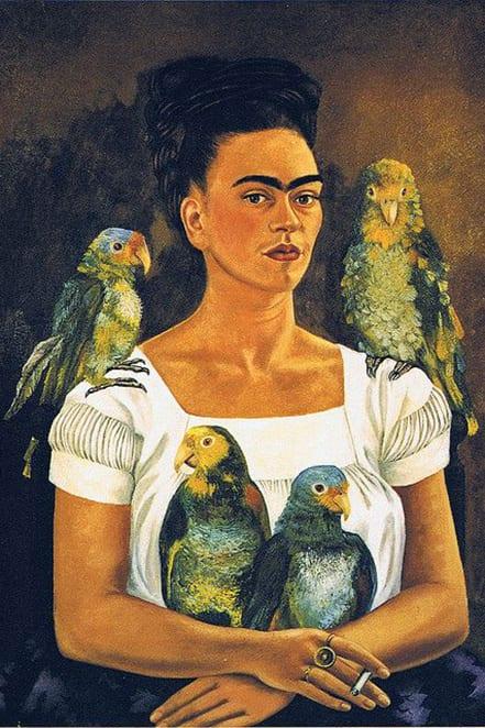 frida parrots